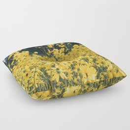 Daisies For Days Floor Pillow