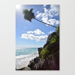 Steps to paradise Canvas Print