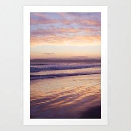 Sunset at Coronado Beach Art Print