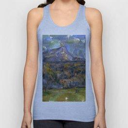 1902 - Paul Cezanne - Mont Sainte-Victoire Unisex Tank Top