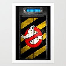 ghost trap Art Print