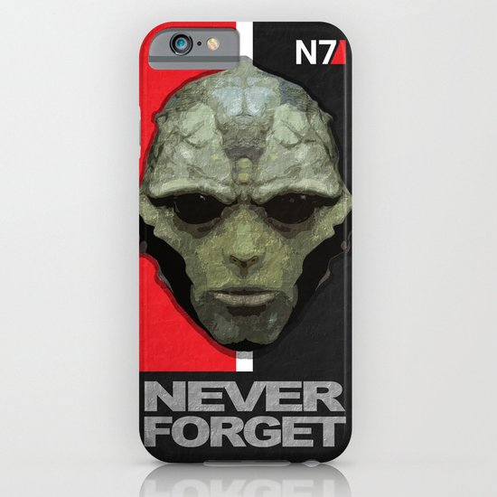 NEVER FORGET - Thane Krios - Mass Effect iPhone & iPod Case