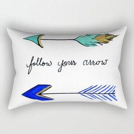 Wherever It Points Rectangular Pillow