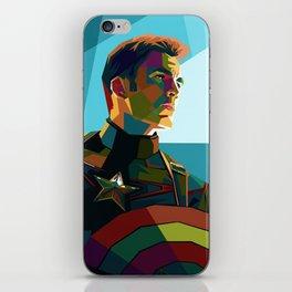 WPAP Avenger - Iron Man, Cap America, Thor, Black Widow, Hulk, Nick, Clint iPhone Skin