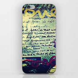 The Fire Next Time iPhone Skin