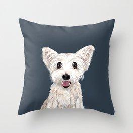 Cute Cairn Terrier Throw Pillow