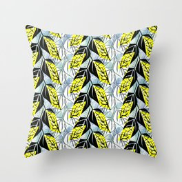 Falling leaves. Throw Pillow