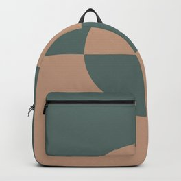 Sand Storm Beige Dark Green Circle Design 2 Behr 2021 Color of the Year Canyon Dusk Meteorological Backpack