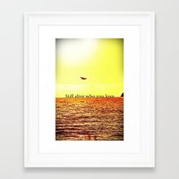 bon iver Framed Art Prints featuring PERTH- BON IVER by Michelle Pitiris