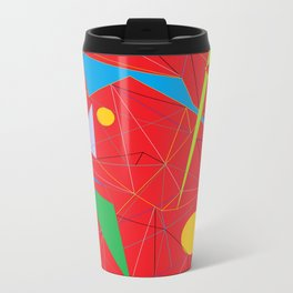 Euclid's Spider Webs Travel Mug