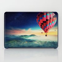hot air balloons iPad Cases featuring Hot Air Balloons by EclipseLio
