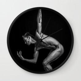 Ballet Strength Wall Clock