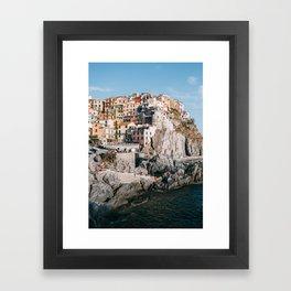 Cinque Terre - Italy Framed Art Print