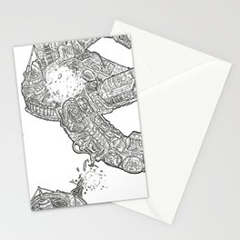 The ring of the Hesitate.(Line) Stationery Cards