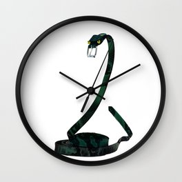The boa belt Wall Clock