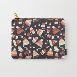 Cozy Winter Clothes Carry-All Pouch
