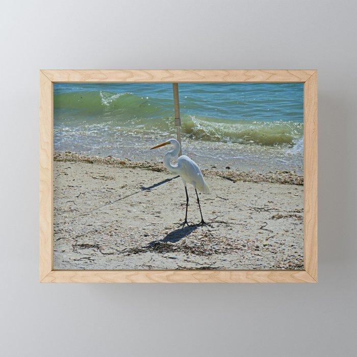 Any Given Day Framed Mini Art Print