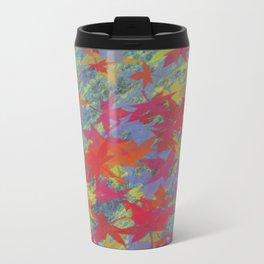 Leaf on texture_01  Travel Mug