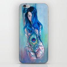 Peafowl Flow iPhone & iPod Skin
