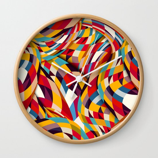 Bang Wall Clock