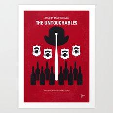 No463 My The Untouchables minimal movie poster Art Print