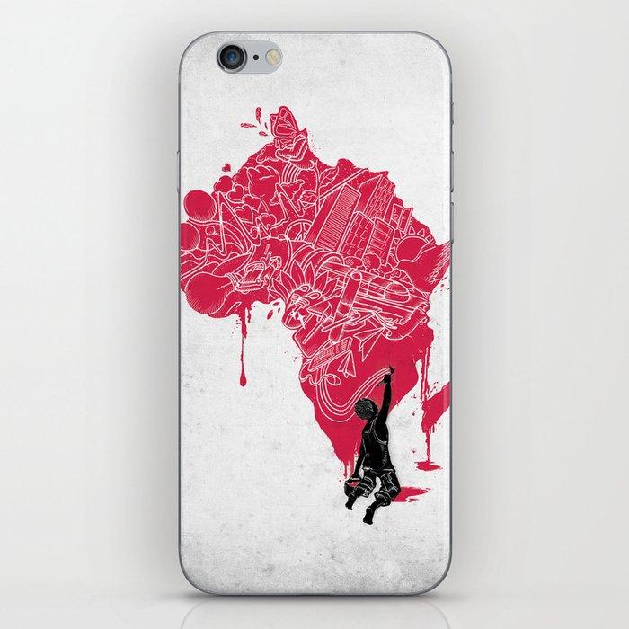 RE   Draw AFRIKA iPhone Skin