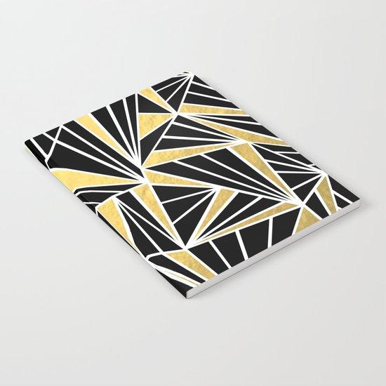 Ab Fan Zoom Gold Notebook
