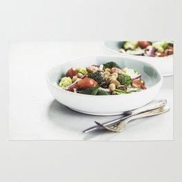 healthy salad Rug