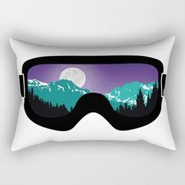 Moonrise Goggles   Goggle Designs   DopeyArt Rectangular Pillow