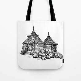 Hagrid's Hut Tote Bag