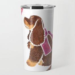 Watercolour American Cocker Spaniel Travel Mug