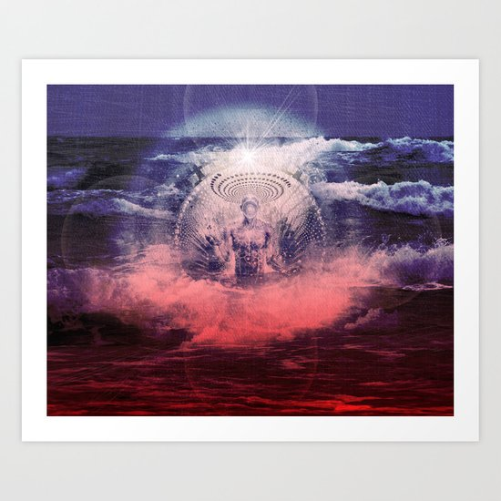 Violent Peace of Mind Art Print