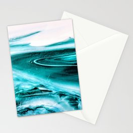 Marble Like Water Stationery Cards