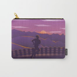Running sunrise Carry-All Pouch