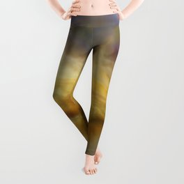 Golden Arrival: Emerging Hope Leggings