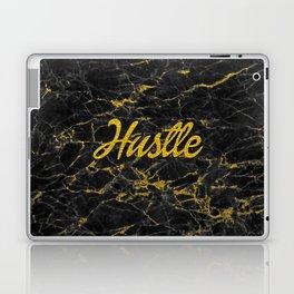 Gold Hustle Black Marble Laptop & iPad Skin