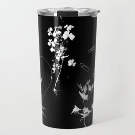 Plants & Paper clips Photogram Travel Mug