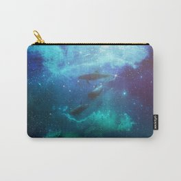 Mystic Dolphins Underwater Scenery Carry-All Pouch