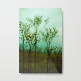 Moody Nature Abstract Metal Print