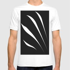Negative Claw MEDIUM Mens Fitted Tee White