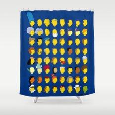 Springfield Follicles Shower Curtain