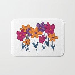 Bright & Cheery Flowers Bath Mat