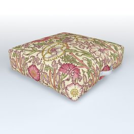 "William Morris ""Pink and Rose"" 3. Outdoor Floor Cushion"