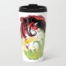 The Wolf and the Halla Travel Mug