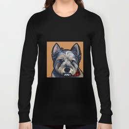 Rigoletto the cairn terrier Long Sleeve T-shirt
