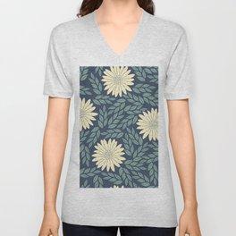 floral cs Unisex V-Neck