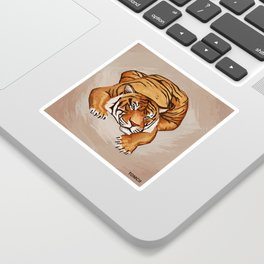 Tiger Sticker
