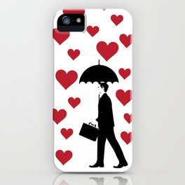 No Love Business Man iPhone Case