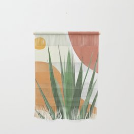 Abstract Agave Plant Wall Hanging