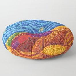 Grounding Hills Floor Pillow